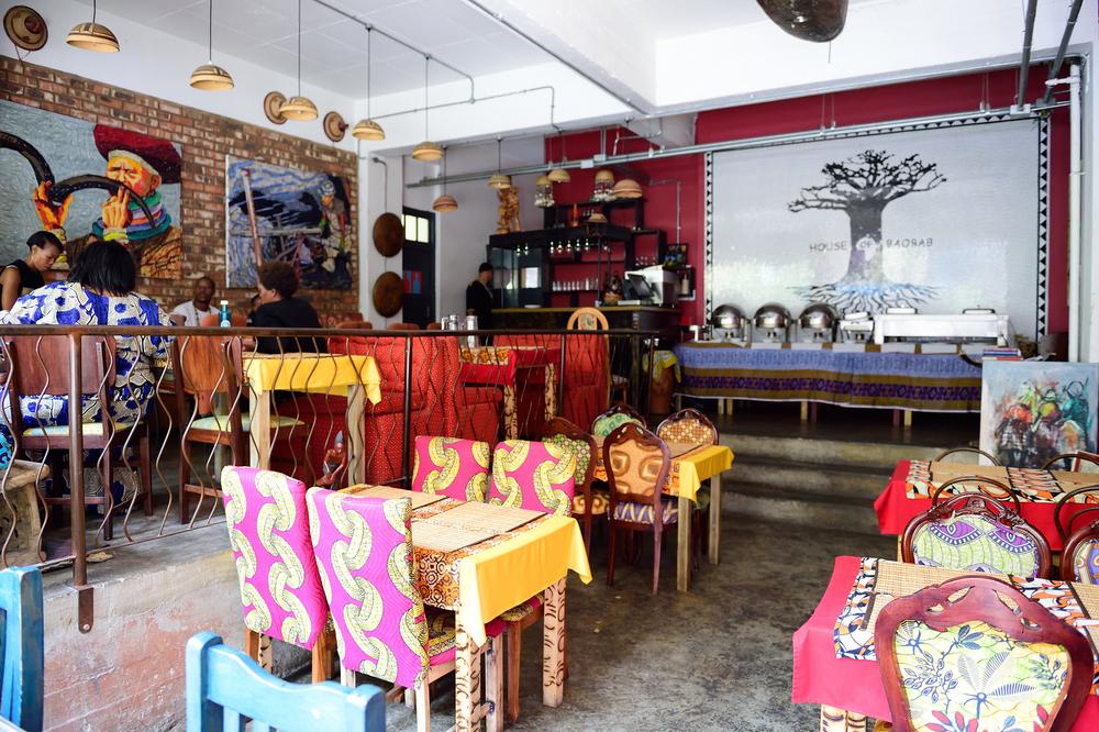 House of Baobab restaurant