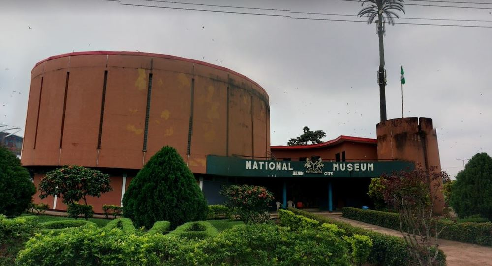 Benin Museum with landscaping
