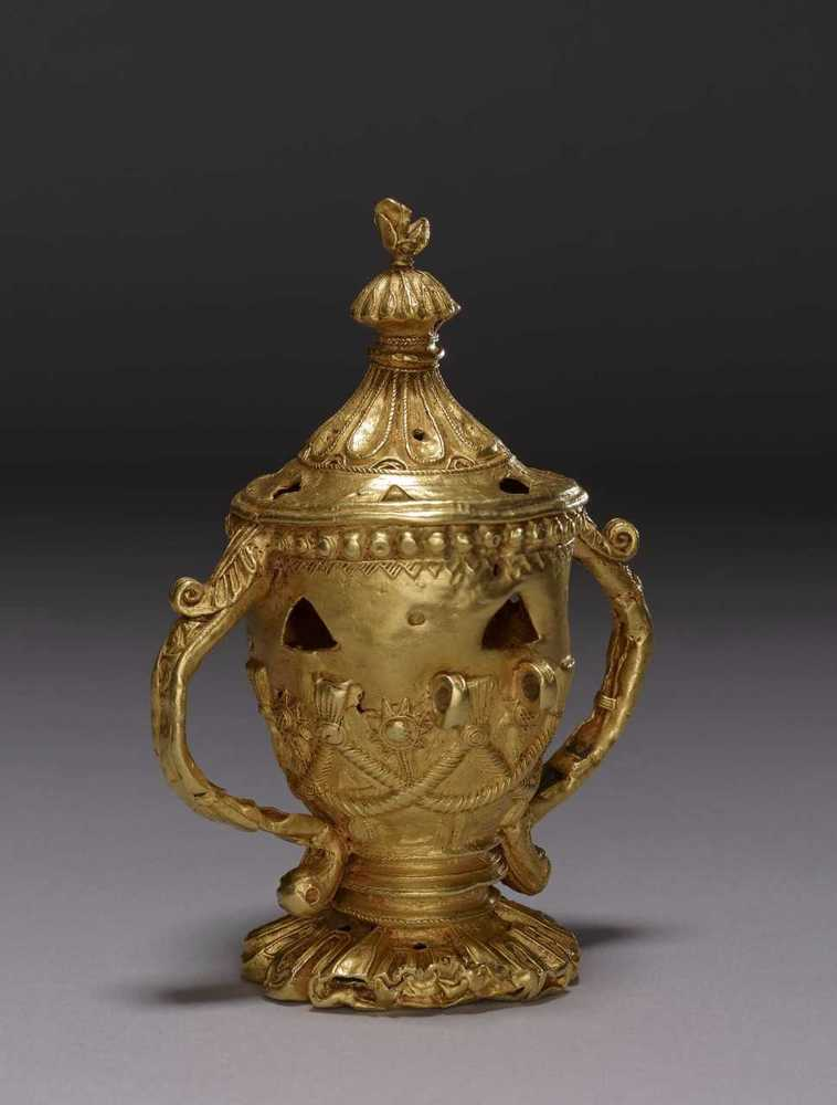 Sword Ornament in the Shape of a Lidded Container