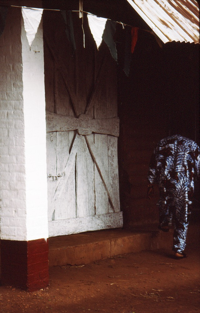 Door from the Oba's Palace, Benin City, Nigeria
