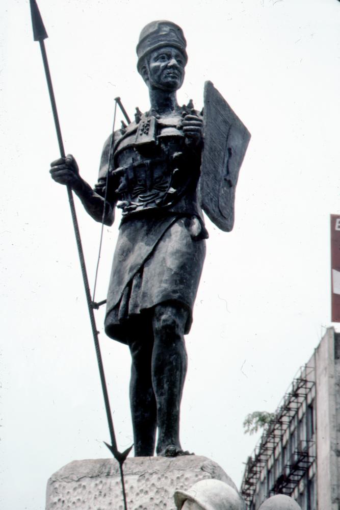 Sculpture of Asoro