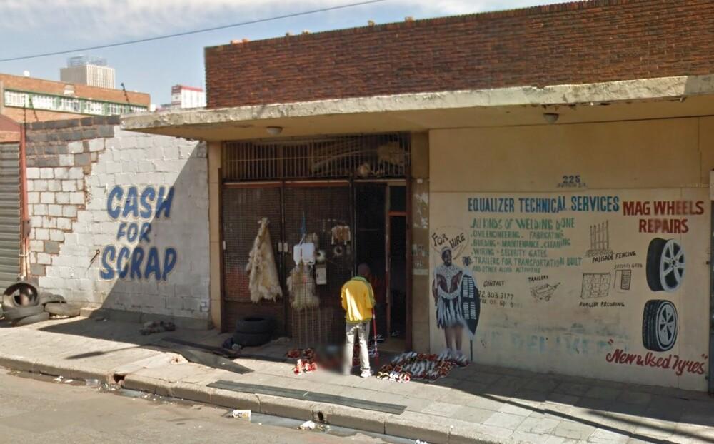 Maboneng street scene