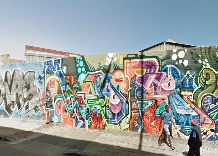 Graffiti combats the grit