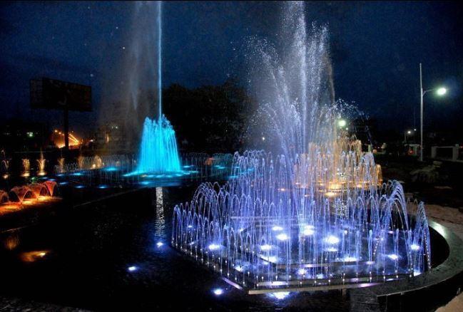 Fountains at Oba Ovoramwen Square