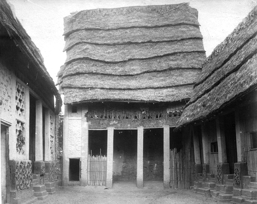 Halls of Justice within the Asantehene's Palace