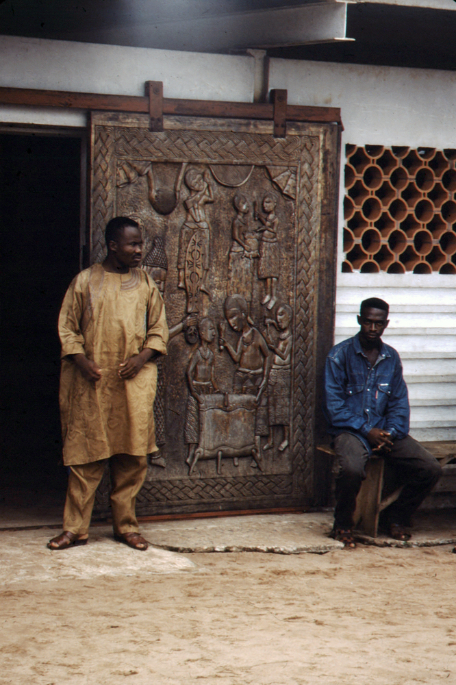 Carved Palace Doors