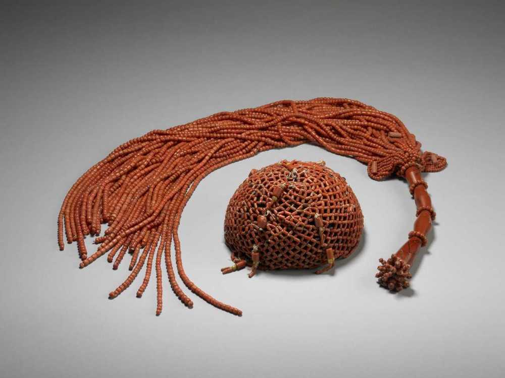 The Oba's Coral Crown and Flywhisk