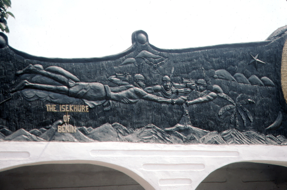 Roofline Relief Decoration, Chief Isekhurhe's Renovated Palace