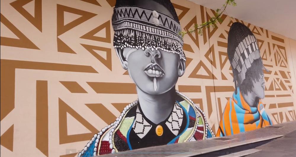 Mural in Jewel City