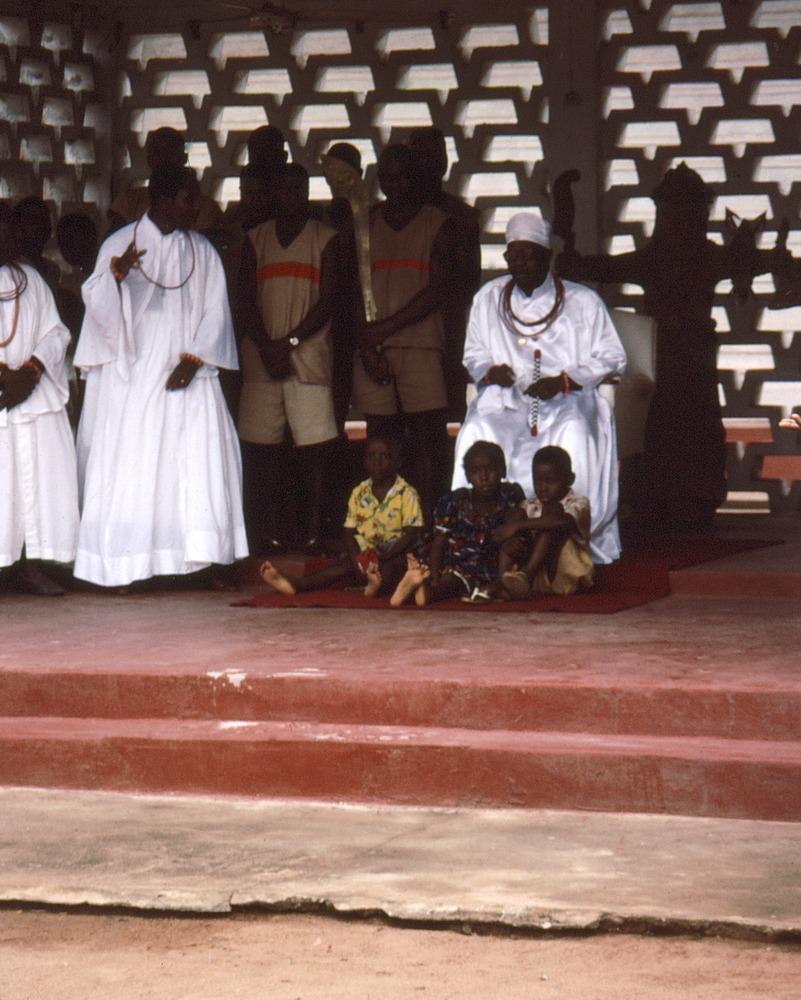 Obas Erediauwa and Ozolua
