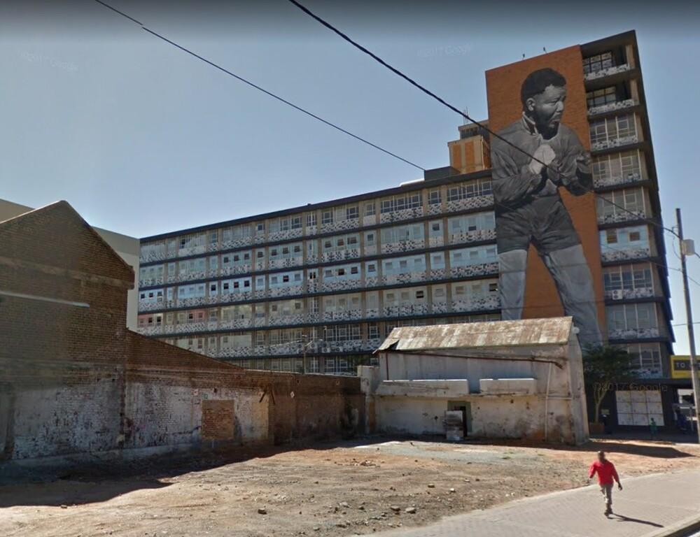 Mandela photo memorialized